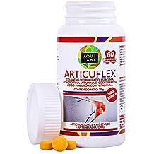 Comprimidos masticables de colágeno con ácido hialurónico, cúrcuma y condroitina para articulaciones y huesos –