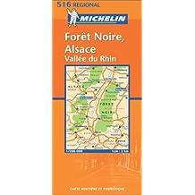 Carte routière : Forêt Noire Alsace - Oberrhein Schwarzwald, N° 11516