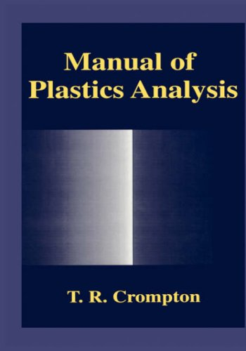 Manual of Plastics Analysis
