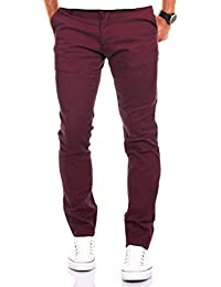 MERISH Chino Slim Fit Men's Pantalons en coton Différentes couleurs Modell 169