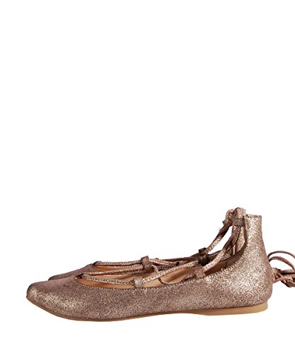 Steve Madden Eleanorr Dusty-Gold-Ballerines Or Faux Cuir Or - Or