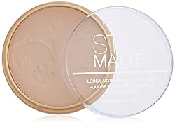 Rimmel London Stay Matte Pressed Powder, Peach Glow, 0.49 Ounce