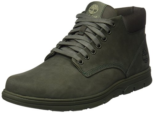 Bradstreet Leather Sensorflex, Botas Chukka para Hombre, Verde (Grapeleaf Nubuck), 39.5 EU Timberland
