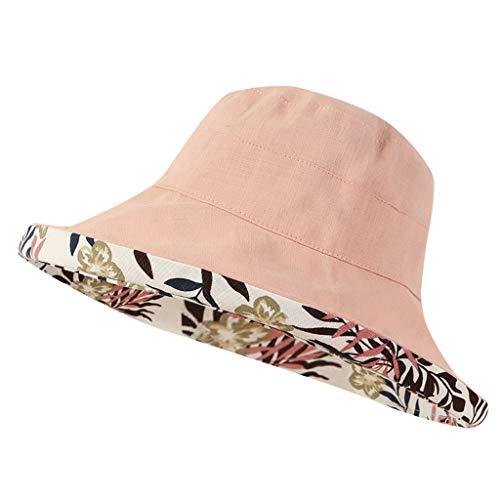 Yvelands Unisex Fischers Hut Damen Multifunktions Einstellbare Qualitäts-Fest Farbe (Rosa) (Jordan Outfits Baby-air)
