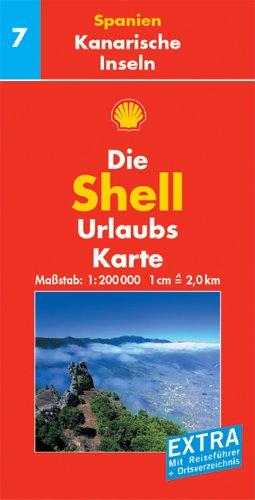 Shell Urlaubskarte Spanien 7. Kanarische Inseln. 1 : 200 000 par Mengiarda Darms