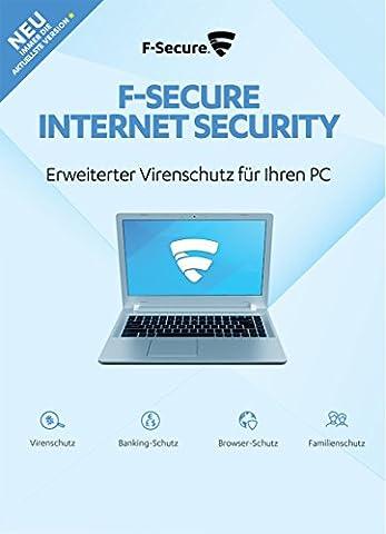 F-Secure Internet Security - 1 Jahr / 1 PC (2018)