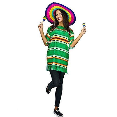 Mexiko Mann Kostüm - Erwachsenengröße Kostüme Kostüme Männer Frauen Unisex (Mexikaner)