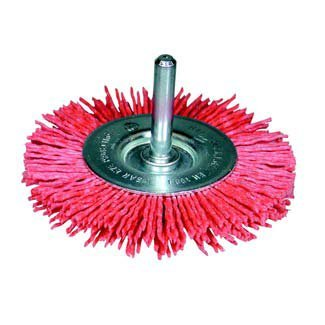 Osborn – Brosse circulaire Filament abrasif – Tige 6 mm (4.500 RPM) (75 x 10 x 16 x 1,1)
