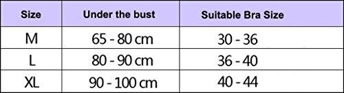 DEHANG - Soutien-gorge de Sport - Sous-vêtements entraînement Push up Sans Armatures - Uni Femme Yoga Fitness dentelle - Tailles et Couleurs au choix Vert