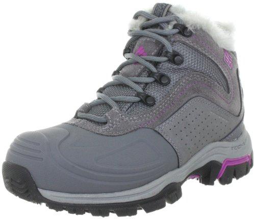 Columbia Silcox Six Omni-Heat BL1546, Damen Snowboots, Grau (Charcoal, Raspberry 030), EU 40 (UK 6.5) (US 8)