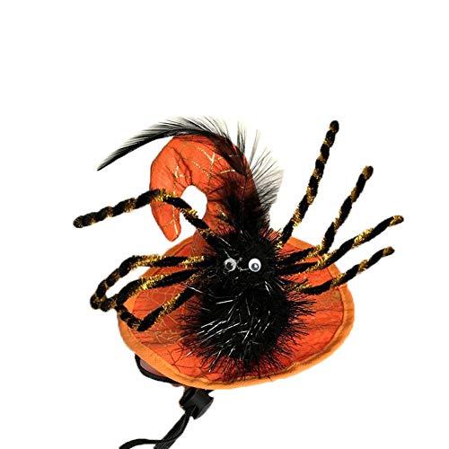 Z-prodigue Halloween-Kostüm, Haustier-Kostüm, für kleine Hunde, orange hat Black - Black Parade Kostüm
