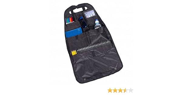 Auto Organizer Rücksitztasche 40x69cm schwarz Rücklehnentasche Autositztasche