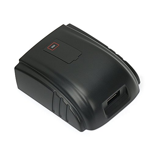 POWERGIANT Akku USB Ladegerät für Milwaukee Batterie 18V C18B, 12 Monate - Volt Dewalt Usb 20