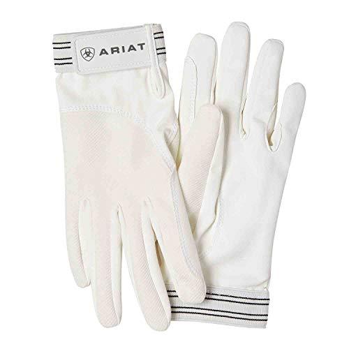 Ariat TEK Grip REIT Handschuhe weiß, weiß, 7