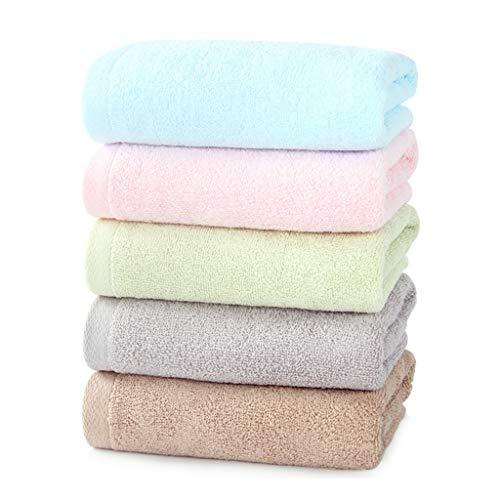 BNBO-L HWH Hotel handtücher, Baumwolle Nicht verblassen verdickung Starke wasseraufnahme Gesicht Towel Run Dance erwachsenes Kind abwischen schweiß Towel 72 * 33 cm 5 stück Saugfähige Handtücher