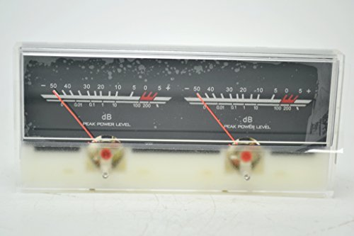 q-baihe VU Meter dB Level Header Verstärker Chassis Audio Vorverstärker Hintergrundbeleuchtung p-59wtc