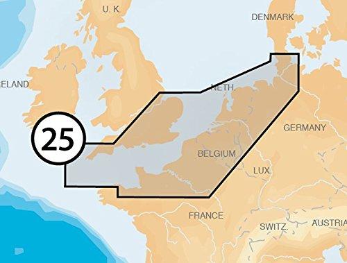 NAVIONICS - Platinum+ - 25P+ UK South-Hamburg, µSD-Karte