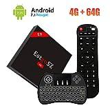 【2018 TV Box  4GB + 64GB】 SINUK EstgoSZ Android 7.1 RK3328 Quad-Core 64 Bits Smart TV décodeur...