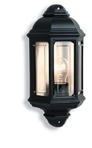 Firstlight 60 Watt 1 x E27 Ip44 Outdoor Wall Light, Black
