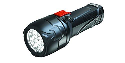 Seac Q5, Linterna de Buceo, Ligera Potente Que Presenta 3 LED con una emisión de 700 lúmenes y un Cuerpo Fabricado a Partir de tecnopolímeros de plástico