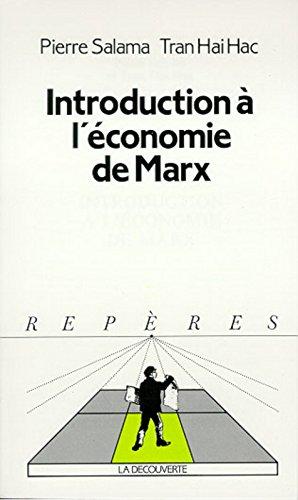 Introduction à l'économie de Marx par Pierre Salama, Hai-Hac Tran