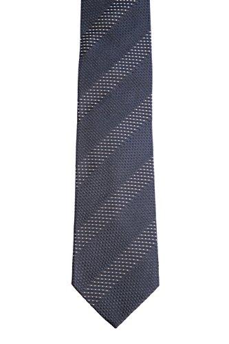 BOSS Herren Seiden-Krawatte 5033150300100 schwarz (15) 000
