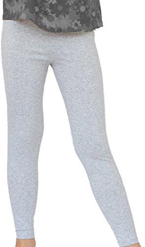 Kinder/Mädchen Thermo Winter Leggings aus Baumwolle Ame (98, Melange)