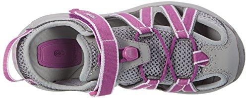 Teva W Rosa, Chaussures d'Athlétisme Femme Multicolore (Grey/dark Purple)