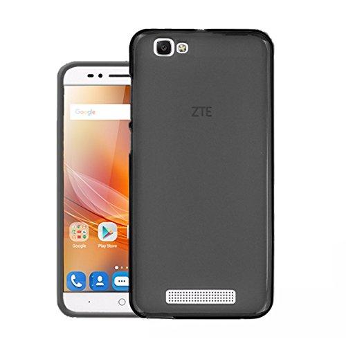 TBOC Funda de Gel TPU Negra para ZTE Blade A610 (5.0 Pulgadas) de Silicona Ultrafina y Flexible