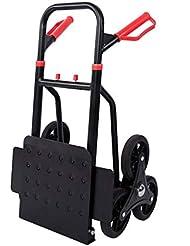 Trolley Dolly Escalador de escaleras con asa, Carro de Transporte Plegable portátil para la fábrica