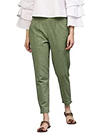 9593084c Greens Women's Trousers: Buy Greens Women's Trousers online at best ...