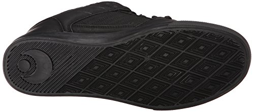 Osiris Mens Protocol Skate Shoe, Black/White/Gum, 5 M US Black