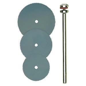 Proxxon Dischi per troncare in acciaio armonico - 16/19/22mm