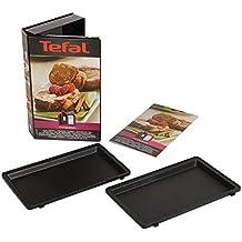 Tefal XA800912 Snack Collection Coffret de Plaque pour Pain Perdu avec Livre de Recettes 4,4 x 15,5 x 24,2 cm