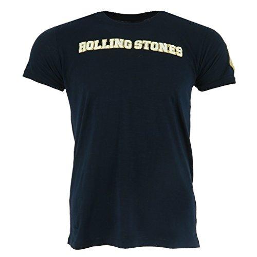 The Rolling Stones Logo & Tongue azul Camiseta Oficial Con licencia Música