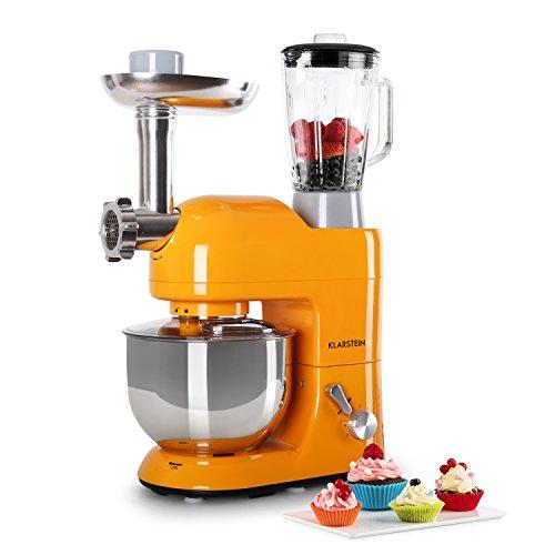 Klarstein Lucia Rossa, Robot de cuisine (1200 W, 5 L,...
