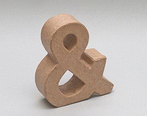 Letra de cartón - &