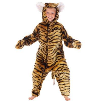 Kostüm Dress Jungle Book Fancy - DELUXE TIGER FUR WILD JUNGLE ANIMAL DRESSING UP COSTUME - KIDS FANCY DRESS BOOK