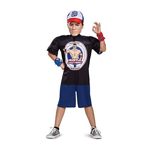 NEU+ORIGINAL!!! John Cena Kinder-Kostüm Youth Halloween Costume WWE Wrestling. Einheitsgröße für Kinder. (Halloween Wrestling Kostüme)