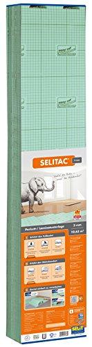 Selitac Parkett- und Laminatunterlage 3 mm