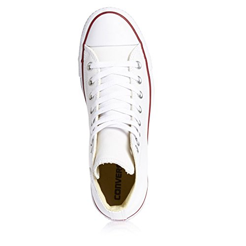 Converse Chuck Taylor Core Lea Hi, Unisex - Erwachsene Sneaker Elfenbein (Blanc)
