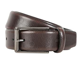 STRELLSON ceinture hommes ceinture en cuir marron, Länge:85 cm;Farbe:braun