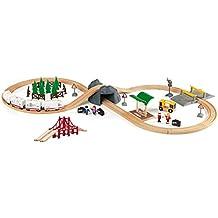 Brio 33169-103 Circuito ferroviario con tren a pilas