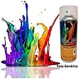 Evus - Pintura vinilo liquido en spray de 400 ml. color blanco nacar . ral 9010