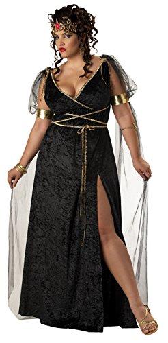 Medusa Griechische Göttin Kostüm Karneval Fasching Verkleidung XXL - Medusa Göttin Kostüm
