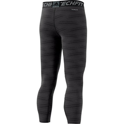 adidas Herren Techfit Long Print Tights Utiblk/Print