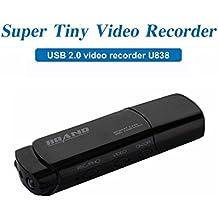 Mengshen Full HD 1080p USB Stick Covert Spycam Mini DVR cámara ocultos Video Surviellant grabadora con movimiento de detección de apoyo de visión nocturna por infrarrojos MS-U838