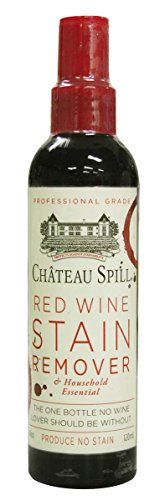 Chateau Spill Red Wine Stain Remover, Biodegradable, Chlorine Free, 4-Ounce Bottle