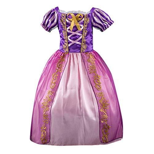 dab6d26828f58 Bébé robe Enfants Kid Party Dress Filles Bébé Imprimé Rayé Princesse Bling  Costumes Tutu Robes Vêtements