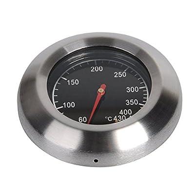 OUNONA Thermometer BBQ Smoker Grill Thermometer für alle Grills, Smoker, Räucherofen und Grillwagen, analog, Grillzubehör